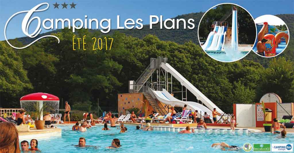 brochure camping parc aquatique